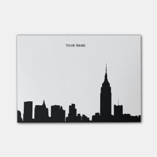 NYC Skyline Silhouette Post-it® Notes