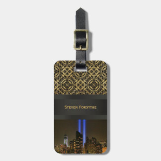 NYC Skyline: WTC  9/11 Tribute In Light 2013 #1 Luggage Tag