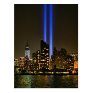 NYC Skyline: WTC  9/11 Tribute In Light 2013 #1 Postcard