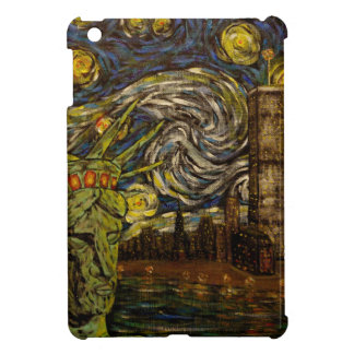 NYC Starry Night.: Twin Towers (The True Towers) iPad Mini Cases