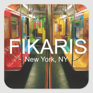 NYC subway sticker