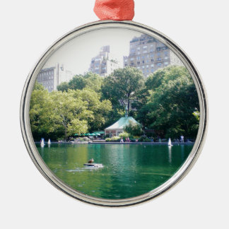 NYC Tavern on the Green Metal Ornament