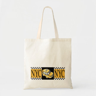 NYC Taxi Cab Tote Bag