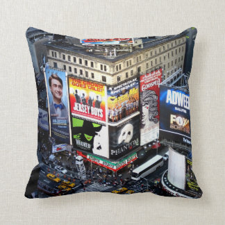 NYC Times Square Cushion