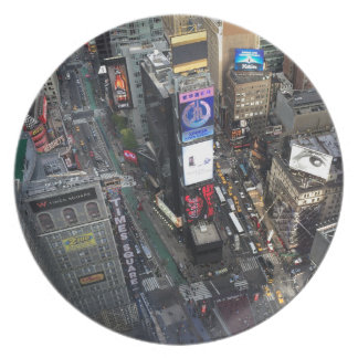 NYC Times Square Plate