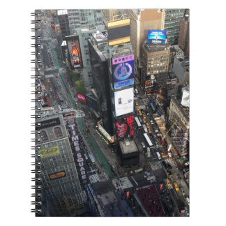 NYC Times Square Spiral Notebooks