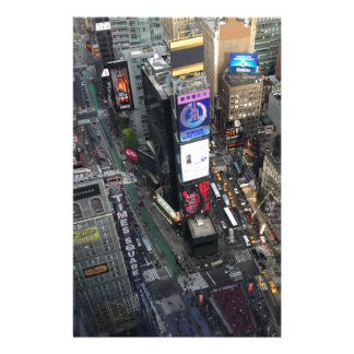 NYC Times Square Stationery
