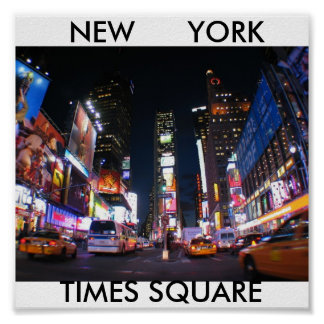 NYC_Times_Square, TIMES SQUARE, NEW      YORK Poster