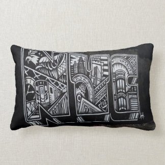 NYC Typography Pillow