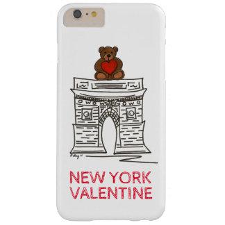 NYC Valentine Washington Square Teddy Bear Case