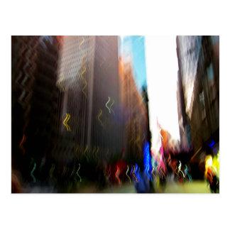 NYC Vertical Blur Postcard