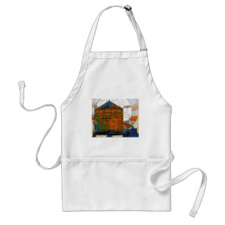 NYC Water Towers #2 Aprons