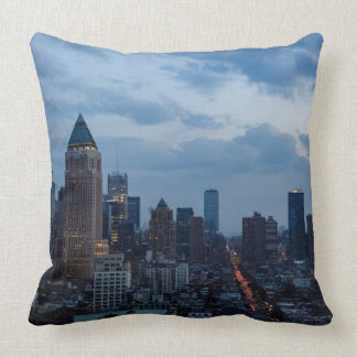 NYC West Side South Throw Pillow
