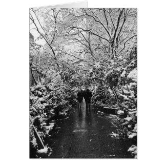 NYC Winter Wonderland Card