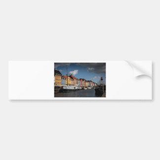Nyhavn, Copenhagen Bumper Sticker
