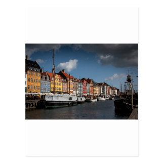Nyhavn, Copenhagen Postcard