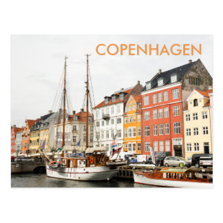 Nyhavn, Copenhagen Travel Postcard