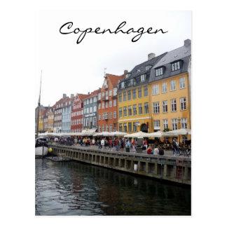 nyhavn scene postcard