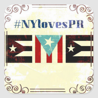 #NYLovesPR Small Stickers
