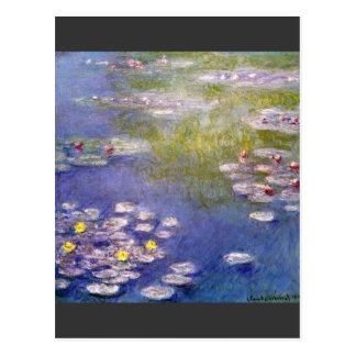 Nympheas at Giverny by Claude Monet Postcards