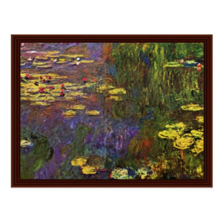 Nymphéas (Water Lily) By Claude Monet Post Cards