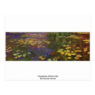 Nymphéas (Water Lily) By Claude Monet Postcards