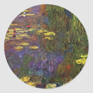 Nymphéas (Water Lily) By Claude Monet Sticker
