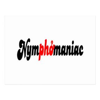 Nymphomaniac Postcard