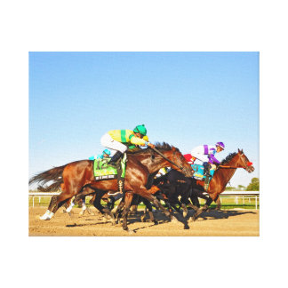 Nyquist Pa. Derby Canvas Print