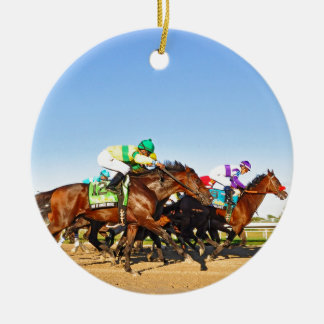 Nyquist Pa. Derby Ceramic Ornament