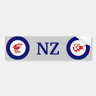 NZ KIWI and Rock wren bumper sticker