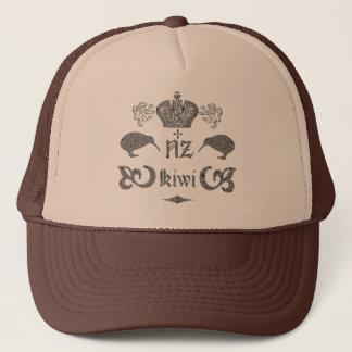 NZ Kiwi Vintage Retro Trucker Hat