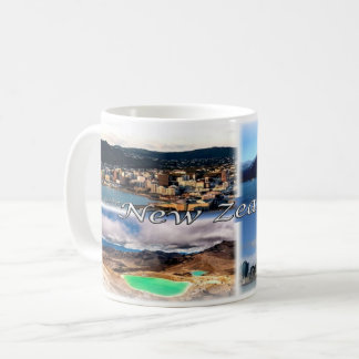 NZ New Zealand - Coffee Mug