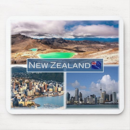 NZ New Zealand - Mouse Pad