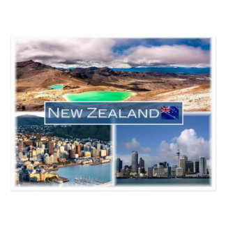 NZ New Zealand - Postcard