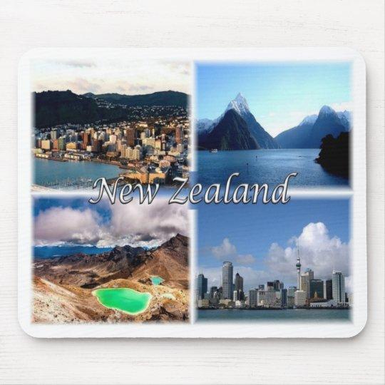 NZ New Zealand - Wellington - Mouse Pad