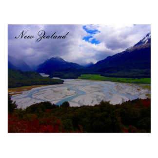 nz river postcard
