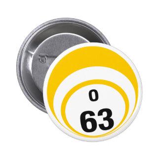 O63 Bingo Ball button