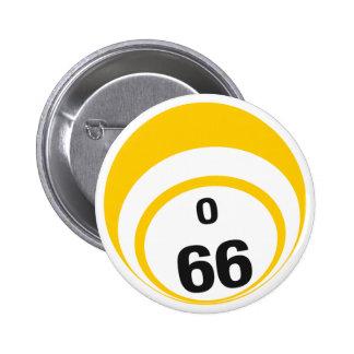 O66 Bingo Ball button
