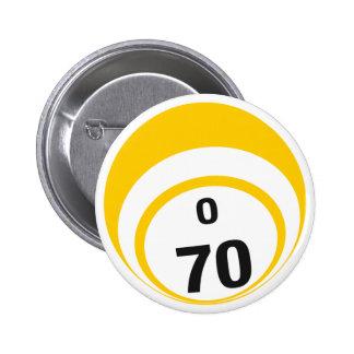 O70 Bingo Ball button