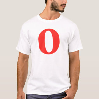 O And/Or Whole Musical Note Represented T-Shirt