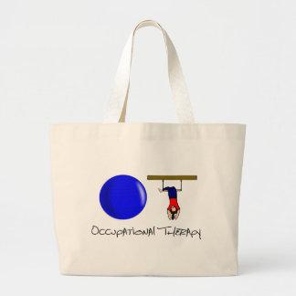 O and T Jumbo Tote Bag