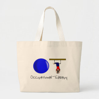 O and T Large Tote Bag