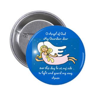 O Angel of God My Guardian dear 6 Cm Round Badge