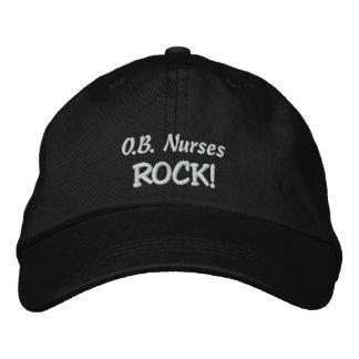 O.B. Nurses Rock! Embroidered Hat