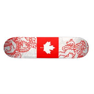 O Canada 20 Cm Skateboard Deck