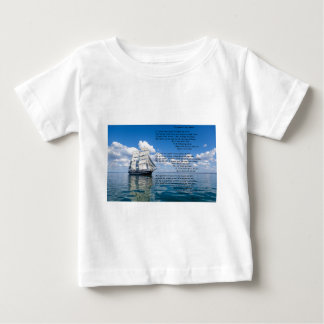 O' Captain, My Captain by: Walt Whitman Baby T-Shirt