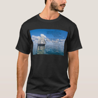 O' Captain, My Captain by: Walt Whitman T-Shirt