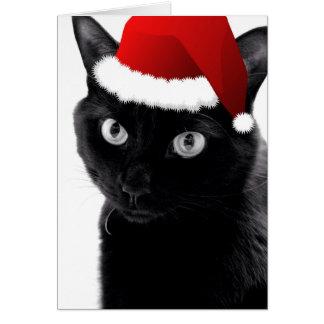 O Christmas Tree Cat Card