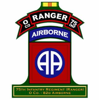O Co, 75th Infantry Regiment - Rangers, Vietnam Standing Photo Sculpture